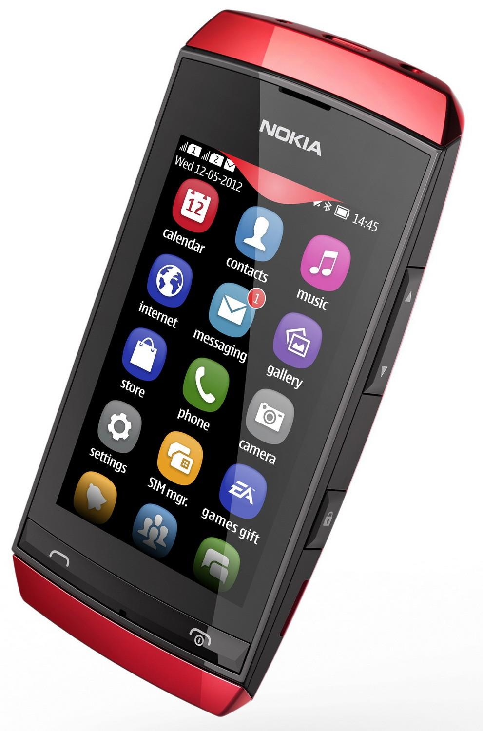 Nokia asha mobile photo